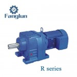 R helical geared motor